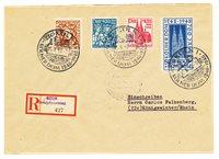 Zones allemandes 1948 - Michel 69/72 - Oblitéré