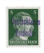 Zones allemandes 1945 - Michel 5 - Neuf