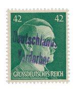 Zones allemandes 1945 - Michel 17 - Neuf