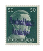 Zones allemandes 1945 - Michel 18 - Neuf