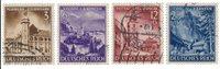 Empire Allemand 1941 - Michel 806/809 - Oblitéré