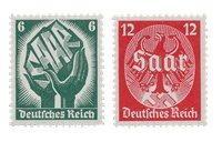 Tyskland - Tyske Rige 1934 - Michel 544/545 - Postfrisk