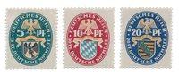 Empire Allemand 1925 - Michel 375/377 - Neuf