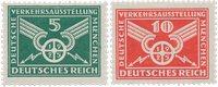 Tyskland - Tyske Rige 1925 - MICHEL 370/371 - Postfrisk