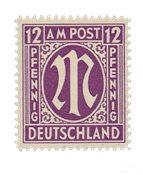 Tyskland Zoner 1945 - MICHEL 15Fz - Postfrisk