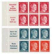 Empire Allemand 1941 - Michel 119+1 22 - Feuille du livret