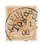Colonies allemandes 1898 - Michel 1b - Oblitéré