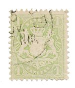 Tyskland stater 1875 - Michel 32c - Stemplet