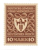 German Empire 1922 - MICHEL 203b - Mint