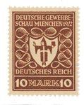 German Empire 1922 - MICHEL 203b - Mint