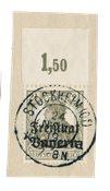 États allemands 1919 - Michel Michel. 136 POR - Oblitéré