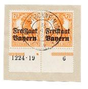États allemands 1919 - Michel 139 HAN - Oblitéré
