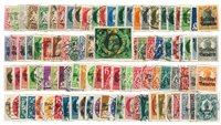 États allemands - 100 timbres différents - Oblitéré