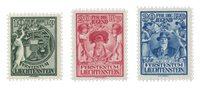 Liechtenstein 1921 - Michel 116/118 - Neuf