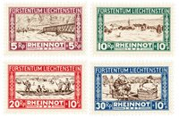Liechtenstein 1928 - Michel 78/81 - Postfrisk