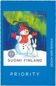 Finlande - Bonhomme de neige - Timbre neuf