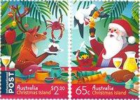 Christmas Island - Jul 2019 - Postfrisk sæt 2v