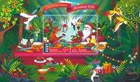 Christmas Island - Jul 2019 - Postfrisk miniark