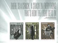 Canada - Leonard Cohen - Série neuve 3v