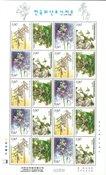 Korée du Sud - Orchidées - Feuillet neuf III