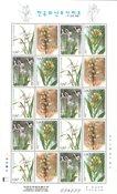 Sydkorea - Orkideer - Postfrisk småark II