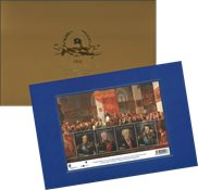 Finland - Centenary for the Republic, 22 carats gold - Mint souvenir sheet with gold