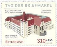 Autriche - La Journée du timbre - Timbre neuf