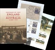Australien - Første fly - Postfrisk prestigehæfte