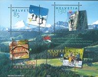 Schweiz - Naturvenner - Postfrisk miniark