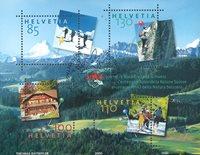 Schweiz - Naturvenner - Stemplet miniark