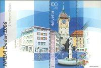 Schweiz - Naba udstillingsminiark - Postfrisk miniark