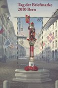 Switzerland - Day of the Stamp Bern 2010 - Mint souvenir sheet