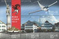 Suisse - Naba 2012 - Bloc-feuillet neuf