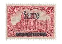 Allemagne / Sarre 1920 - Michel 17 - Neuf