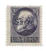 Allemagne / Sarre 1920 - Michel 28b - Neuf avec charnières