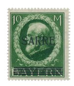 Allemagne / Sarre 1920 - Michel 31 - Neuf avec charnières