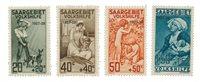 Allemagne / Sarre 1927 - Michel 122/125 - Neuf