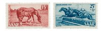 Allemagne / Sarre 1949 - Michel 265/266 - Neuf