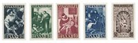 Allemagne / Sarre 1949 - Michel 267/271 - Neuf