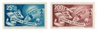 Allemagne / Sarre 1950 - Michel 297/298 - Neuf