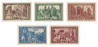 Allemagne / Sarre 1950 - Michel 299/303 - Neuf