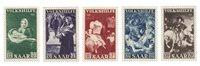 Allemagne / Sarre 1951 - Michel 309/313 - Neuf