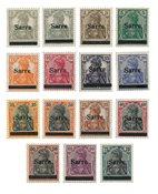 Allemagne / Sarre 1920 - Michel 1/15 - Neuf