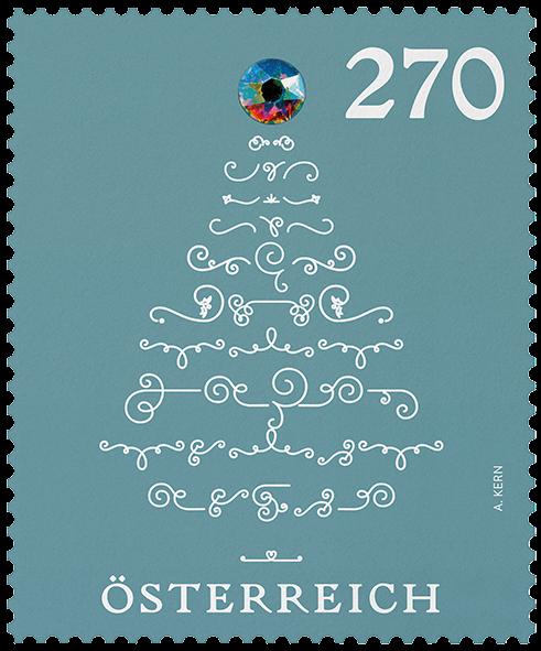 Kalėdinis pašto ženklas. Austrija 2019