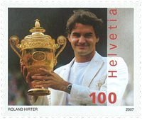Suisse - Roger Federer - Timbre neuf