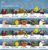 Netherlands - *Dezemberzegels* 2019 - Mint set 10v