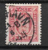 Danemark  - AFA Tj. 6 - Oblitéré