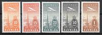 Danmark  - AFA 216-220 - Ustemplet