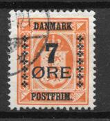 Danmark  - AFA 160 - Stemplet