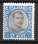 Islanti  - AFA  Tj 60 - Postituore